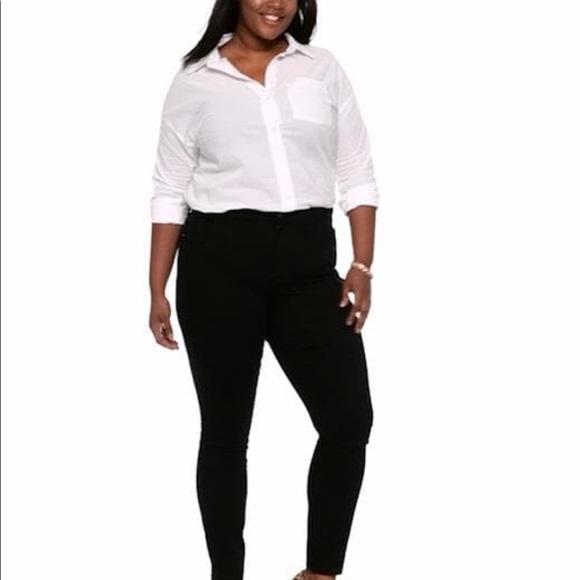 e1bce57ecf6 NWT High-Rise Secret-Slim Plus-Size Rockstar Jeans